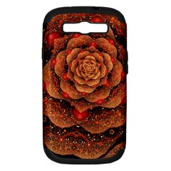 Flower Patterns Petals  Samsung Galaxy S Iii Hardshell Case (pc+silicone) by amphoto