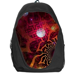 Explosion Background Bright  Backpack Bag by amphoto