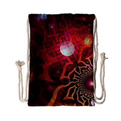 Explosion Background Bright  Drawstring Bag (small) by amphoto