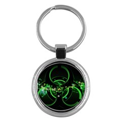 Radiation Sign Spot  Key Chains (round)  by amphoto