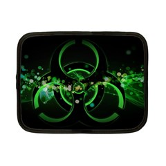 Radiation Sign Spot  Netbook Case (small)  by amphoto