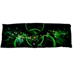 Radiation Sign Spot  Body Pillow Case (dakimakura) by amphoto