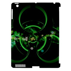 Radiation Sign Spot  Apple Ipad 3/4 Hardshell Case (compatible With Smart Cover) by amphoto