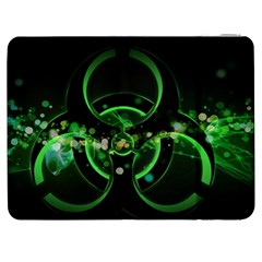 Radiation Sign Spot  Samsung Galaxy Tab 7  P1000 Flip Case by amphoto