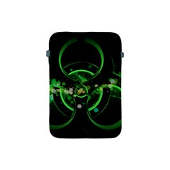Radiation Sign Spot  Apple Ipad Mini Protective Soft Cases by amphoto