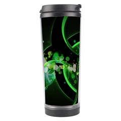 Radiation Sign Spot  Travel Tumbler by amphoto