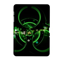 Radiation Sign Spot  Samsung Galaxy Tab 2 (10 1 ) P5100 Hardshell Case  by amphoto