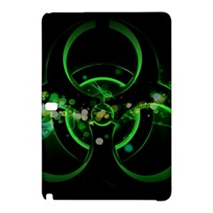Radiation Sign Spot  Samsung Galaxy Tab Pro 10 1 Hardshell Case by amphoto
