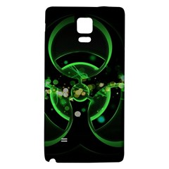 Radiation Sign Spot  Galaxy Note 4 Back Case