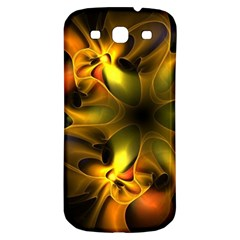 Art Fractal  Samsung Galaxy S3 S Iii Classic Hardshell Back Case by amphoto