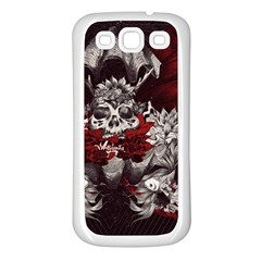 Patterns Bright Background  Samsung Galaxy S3 Back Case (white) by amphoto
