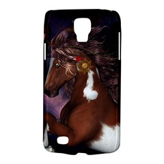 Steampunk Wonderful Wild Horse With Clocks And Gears Galaxy S4 Active by FantasyWorld7