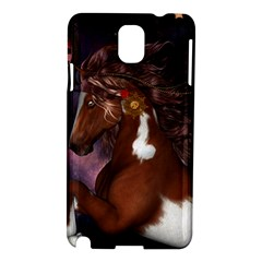 Steampunk Wonderful Wild Horse With Clocks And Gears Samsung Galaxy Note 3 N9005 Hardshell Case by FantasyWorld7