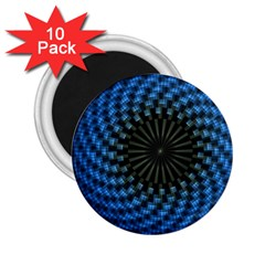 Patterns Circles Rays  2 25  Magnets (10 Pack)  by amphoto