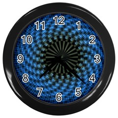Patterns Circles Rays  Wall Clocks (black) by amphoto