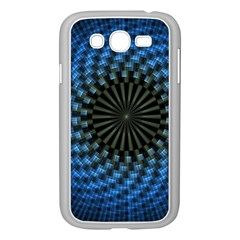 Patterns Circles Rays  Samsung Galaxy Grand Duos I9082 Case (white) by amphoto