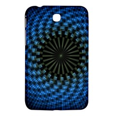 Patterns Circles Rays  Samsung Galaxy Tab 3 (7 ) P3200 Hardshell Case  by amphoto
