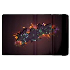Abstraction Patterns Stripes  Apple Ipad 3/4 Flip Case by amphoto