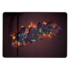 Abstraction Patterns Stripes  Samsung Galaxy Tab 10 1  P7500 Flip Case by amphoto