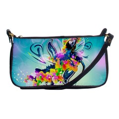 Parrot Abstraction Patterns Shoulder Clutch Bags