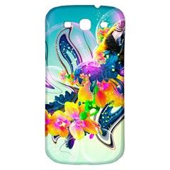 Parrot Abstraction Patterns Samsung Galaxy S3 S Iii Classic Hardshell Back Case