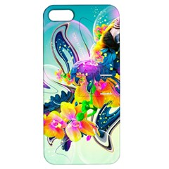 Parrot Abstraction Patterns Apple Iphone 5 Hardshell Case With Stand
