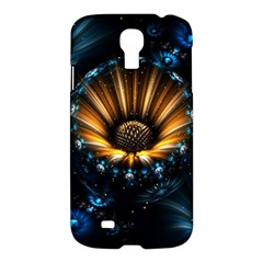 Fractal Flowers Abstract  Samsung Galaxy S4 I9500/i9505 Hardshell Case by amphoto