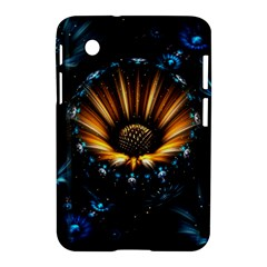 Fractal Flowers Abstract  Samsung Galaxy Tab 2 (7 ) P3100 Hardshell Case  by amphoto