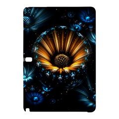 Fractal Flowers Abstract  Samsung Galaxy Tab Pro 12 2 Hardshell Case by amphoto