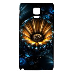 Fractal Flowers Abstract  Galaxy Note 4 Back Case
