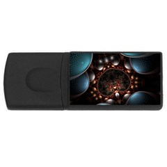 Pattern Fractal Abstract 3840x2400 Rectangular Usb Flash Drive by amphoto