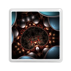 Pattern Fractal Abstract 3840x2400 Memory Card Reader (square)  by amphoto