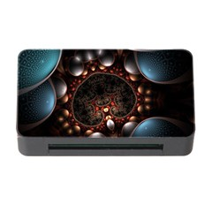 Pattern Fractal Abstract 3840x2400 Memory Card Reader With Cf by amphoto