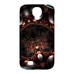 Pattern Fractal Abstract 3840x2400 Samsung Galaxy S4 Classic Hardshell Case (pc+silicone) by amphoto
