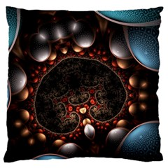 Pattern Fractal Abstract 3840x2400 Standard Flano Cushion Case (two Sides) by amphoto
