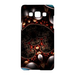 Pattern Fractal Abstract 3840x2400 Samsung Galaxy A5 Hardshell Case  by amphoto