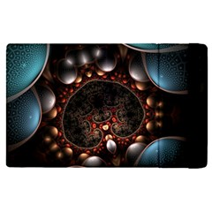 Pattern Fractal Abstract 3840x2400 Apple Ipad Pro 9 7   Flip Case by amphoto