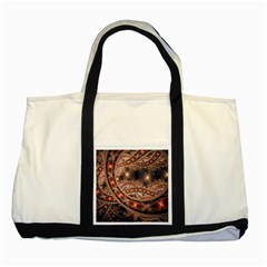 Fractal Patterns Abstract  Two Tone Tote Bag by amphoto