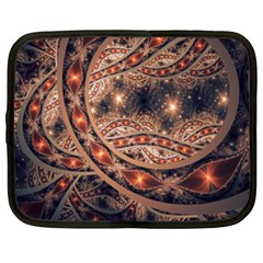 Fractal Patterns Abstract  Netbook Case (xxl)  by amphoto