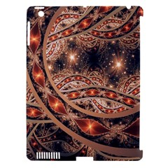 Fractal Patterns Abstract  Apple Ipad 3/4 Hardshell Case (compatible With Smart Cover)