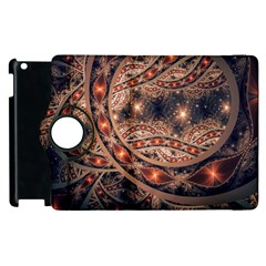 Fractal Patterns Abstract  Apple Ipad 3/4 Flip 360 Case by amphoto