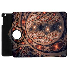 Fractal Patterns Abstract  Apple Ipad Mini Flip 360 Case by amphoto