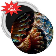 Fractal Patterns Abstract 3840x2400 3  Magnets (10 Pack)  by amphoto