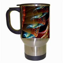 Fractal Patterns Abstract 3840x2400 Travel Mugs (white) by amphoto