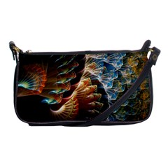 Fractal Patterns Abstract 3840x2400 Shoulder Clutch Bags by amphoto