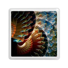 Fractal Patterns Abstract 3840x2400 Memory Card Reader (square)  by amphoto