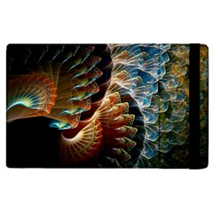 Fractal Patterns Abstract 3840x2400 Apple Ipad 3/4 Flip Case by amphoto