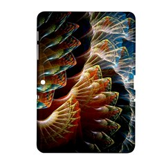 Fractal Patterns Abstract 3840x2400 Samsung Galaxy Tab 2 (10 1 ) P5100 Hardshell Case  by amphoto