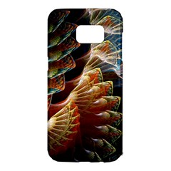 Fractal Patterns Abstract 3840x2400 Samsung Galaxy S7 Edge Hardshell Case by amphoto