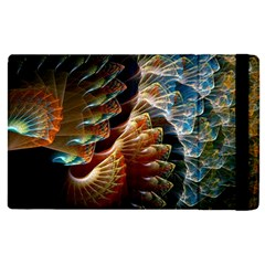 Fractal Patterns Abstract 3840x2400 Apple Ipad Pro 9 7   Flip Case by amphoto